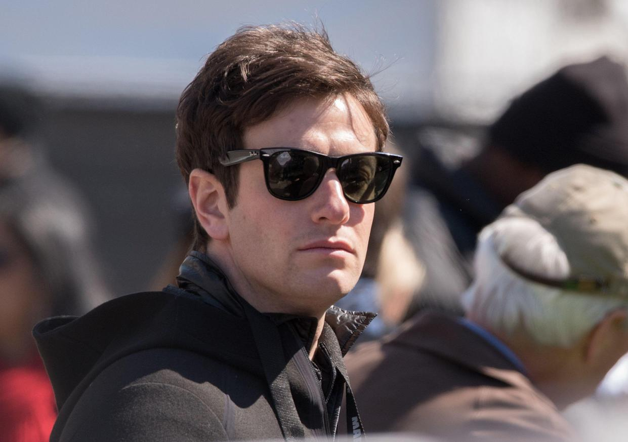 Joshua Kushner at the March for Our Lives in Washington last year. (Photo: Noam Galai/WireImage)