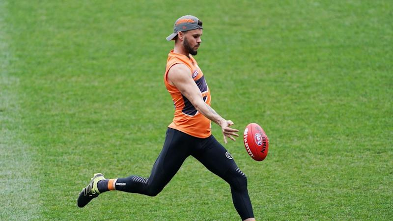 GIANTS TRAINING SESSION
