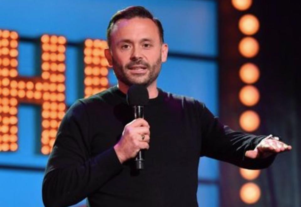 Geoff Norcott has appeared on several BBC panel show's including 'Live At The Apollo' (BBC)