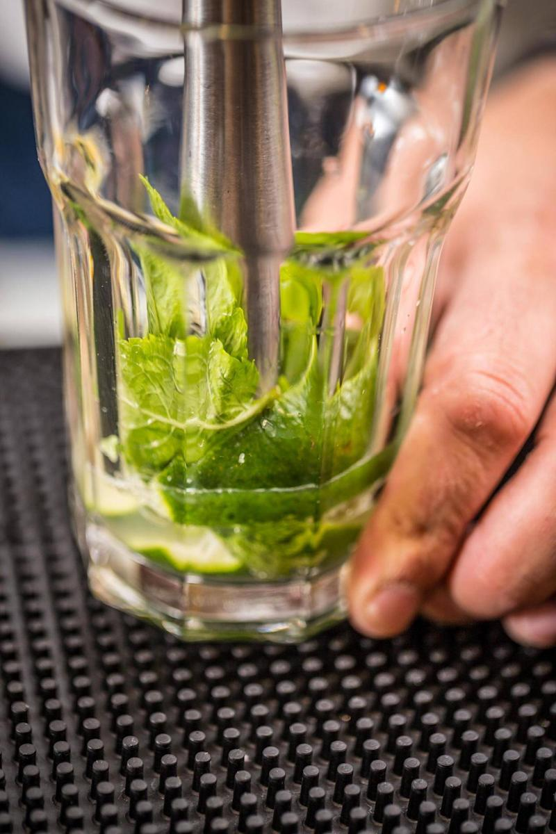 'Spanking mint' is better than muddling