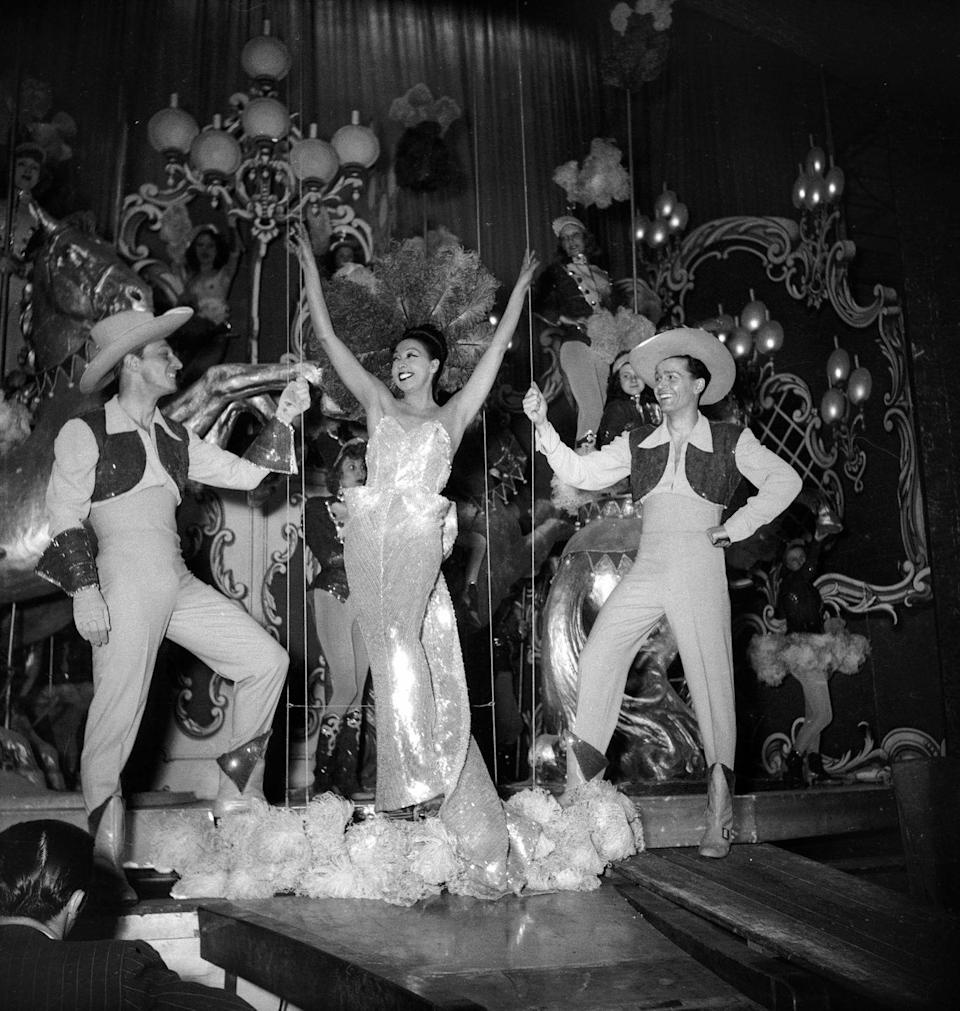 <p>As her star power continued to rise, Baker invested her money into her very own nightclub, Chez Josephine. </p>