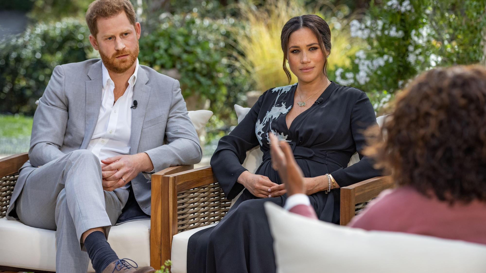 Racist comment about Archie's skin tone not made by Queen or Philip, Oprah says