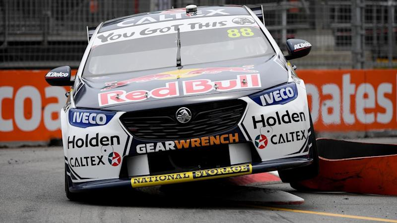 Jamie Whincup has won the final Supercars race of the season, at the Newcastle 500