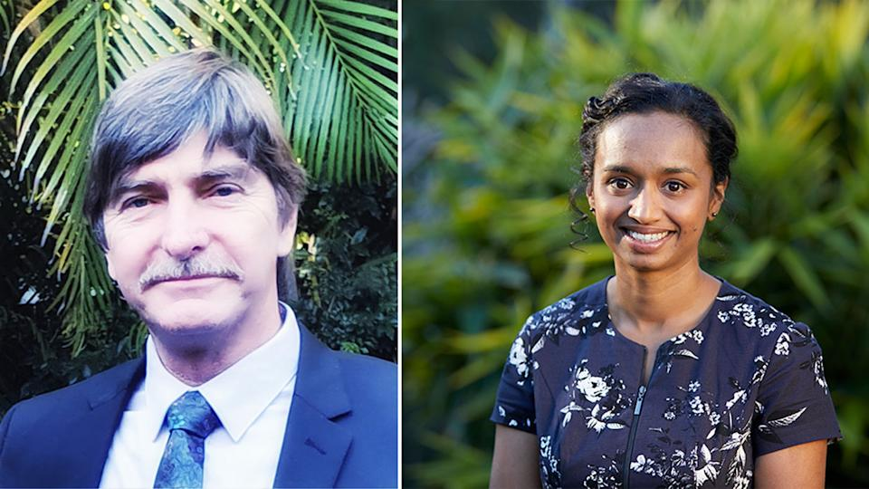 Tony (left) sought help from Iswara, co-founder Sonia Lancaster (right)explained the service aims to empower people to help them thrive. Source: Supplied