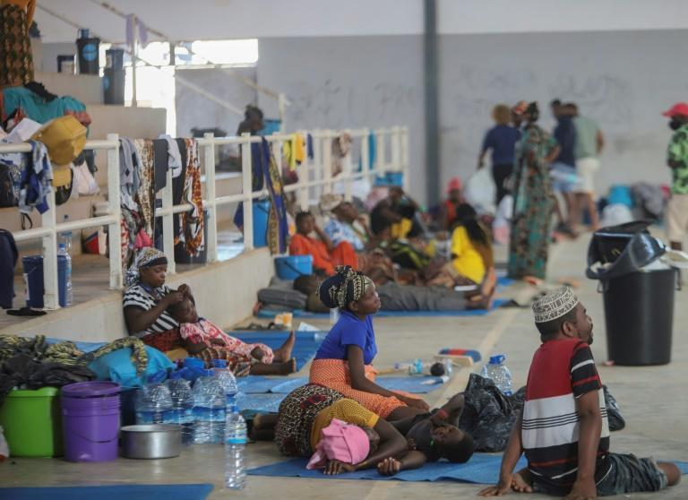 Thousands of civilians have been displaced by the fighting in northern Mozambique
