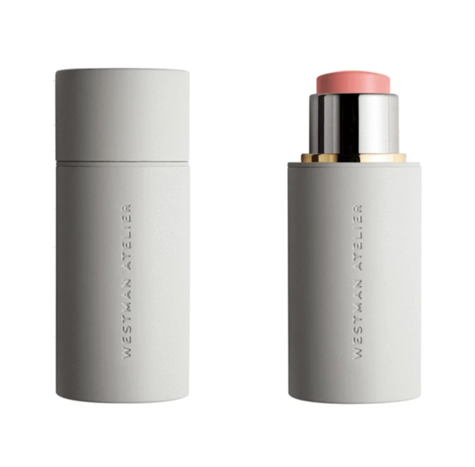 """<br><br><strong>Westman Atelier</strong> Baby Cheeks Blush Stick, $, available at <a href=""""https://go.skimresources.com/?id=30283X879131&url=https%3A%2F%2Fcredobeauty.com%2Fcollections%2Fbestsellers%2Fproducts%2Fbaby-cheeks-blush-stick%23locklink"""" rel=""""nofollow noopener"""" target=""""_blank"""" data-ylk=""""slk:Credo Beauty"""" class=""""link rapid-noclick-resp"""">Credo Beauty</a>"""