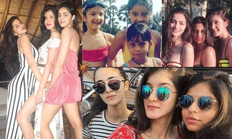 These Drool Worthy Photos Of B-Town's Gen-Next Ananya Panday, Suhana Khan And Shanaya Kapoor Are Enough To Kill Your Monday Blues!