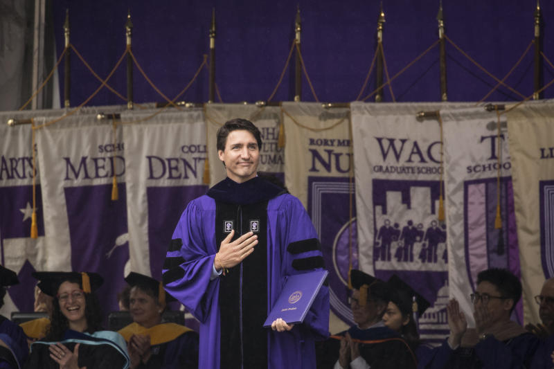 'Fight Our Tribal Mindset.' Read Justin Trudeau's Commencement Address to NYU Graduates