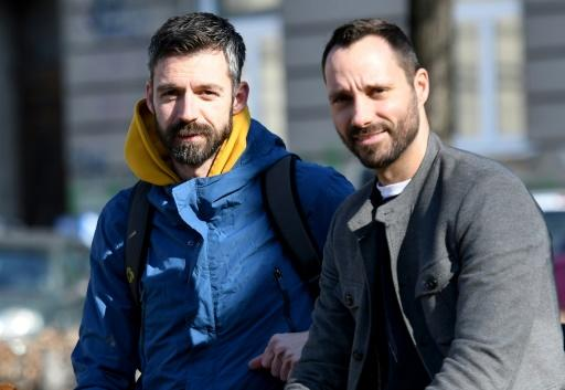 Mladen Kozic, 38, (L) and Ivo Segota, 37, have new hope of becoming foster parents after a ruling by Croatia's constitutional court about same-sex couples