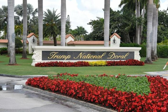 President Donald Trump says he could host the 2020 summit of G7 leaders at his own Trump National Doral golf resort in Miami (AFP Photo/Michele Eve Sandberg)