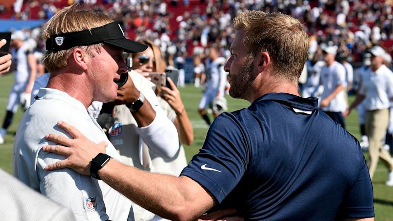 Raiders will conduct joint training camp practices with Rams in Napa