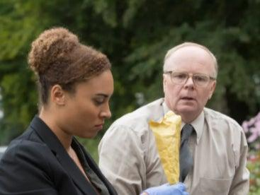 Tala Gouveia and Jason Watkins as contrasting detectives in 'McDonald & Dodds'ITV