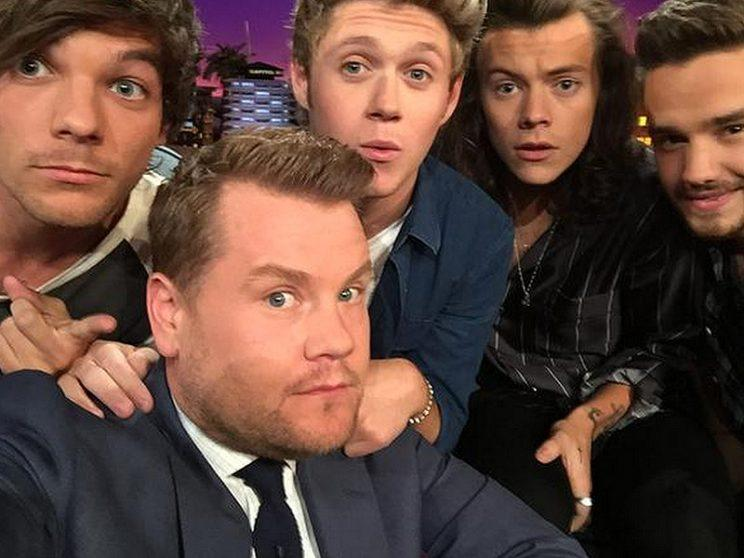 Louis Tomlinsons Late Mother Asked James Corden To Look After One