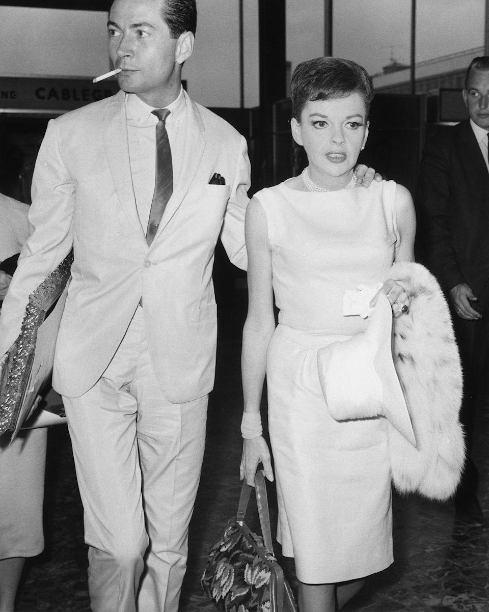 <p>After years of separations and a child custody battle, Judy divorced Luft and married actor Mark Herron. The marriage lasted less than a year. </p>