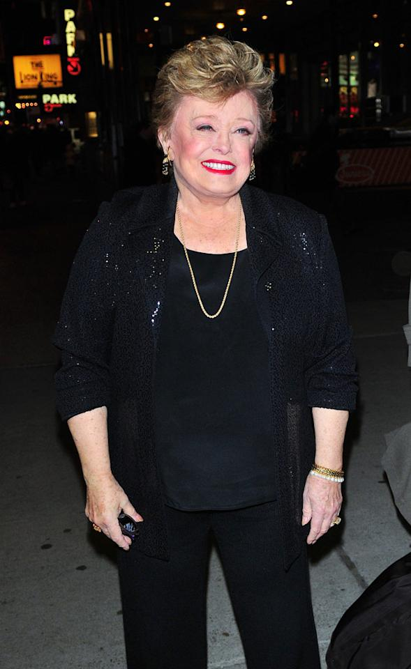 """""""Golden Girls"""" star Rue McClanahan, better known to her fans as Blanche Devereaux, is also a breast cancer survivor and activist. Brian Killian/<a href=""""http://www.wireimage.com"""" target=""""new"""">WireImage.com</a> - February 19, 2009"""