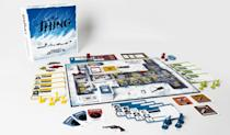 """<p>John Carpenter's terrifying sci-fi horror classic has been transformed into Mondo's insanely detailed board game where up to eight players assume the roles of the film characters, trying to suss out who has been infected by the Thing and then ultimately escape from the Antarctic base.<br><strong>Buy: <a href=""""http://www.thinkgeek.com/product/khtu/"""" rel=""""nofollow noopener"""" target=""""_blank"""" data-ylk=""""slk:ThinkGeek"""" class=""""link rapid-noclick-resp"""">ThinkGeek</a></strong> </p>"""