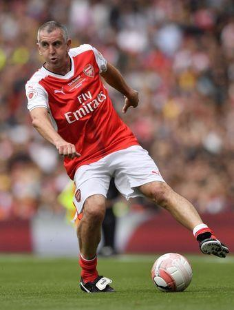 FILE PHOTO - Britain Football Soccer - Arsenal Legends v AC Milan Legends - Emirates Stadium - 3/9/16. Arsenal Legends' Nigel Winterburn Action Images via Reuters / Tony O'Brien