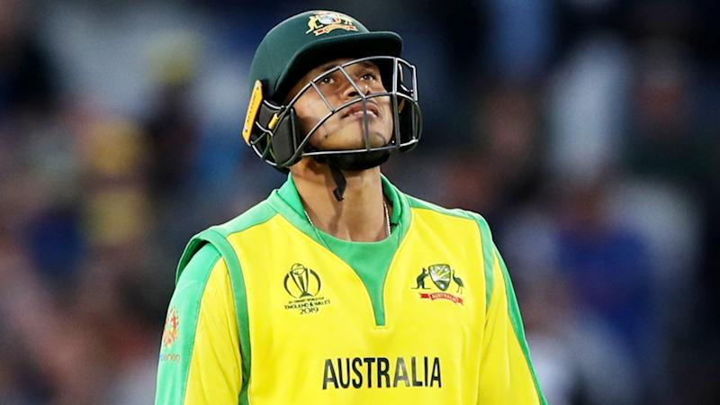 Not one to wear his heart on his sleeve, Usman Khawaja has revealed how much his hamstring injury during the World Cup affected him in an upcoming Amazon documentary series. (Photo by David Davies/PA Images via Getty Images)
