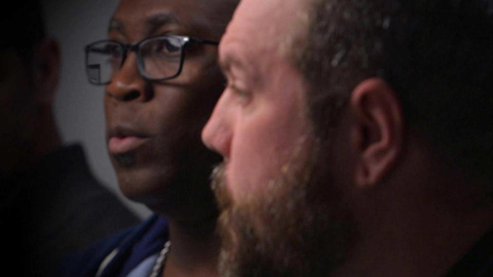 Jurors Victor, left, and Chris, told their fellow jurors that they shared the defense's concerns about the investigation – starting with that lost confession. / Credit: CBS News