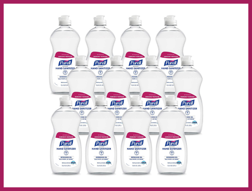 Could a 12.6-Ounce flip-cap bottle of Purell be a great holiday gift in 2020? You bet. Get this pack of a dozen and you can hand them out to loved ones. (Photo: Amazon)