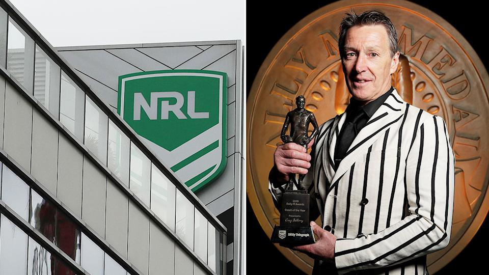 Suspicious betting activity around Craig Bellamy's Dally M award in 2019 led to the police investigation.