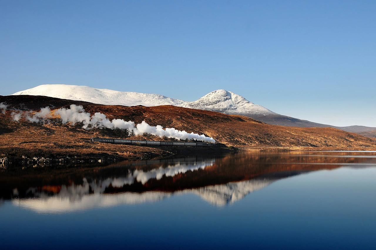 Taliesin Coombes, Reflections, Strath Bran, Scotland. Highly Commended in the Young Classic View category.