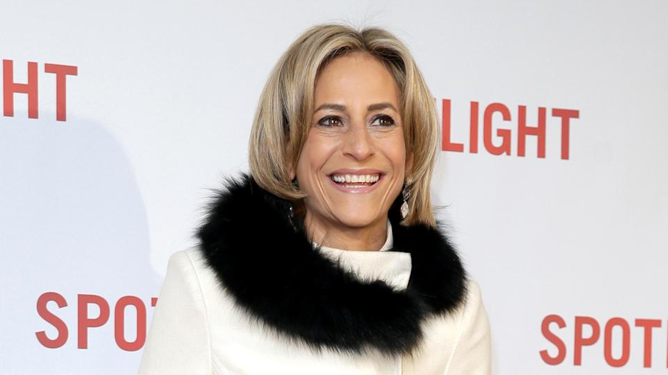 Emily Maitlis at a premiere