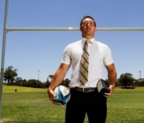 Devout recruit on rugby mission