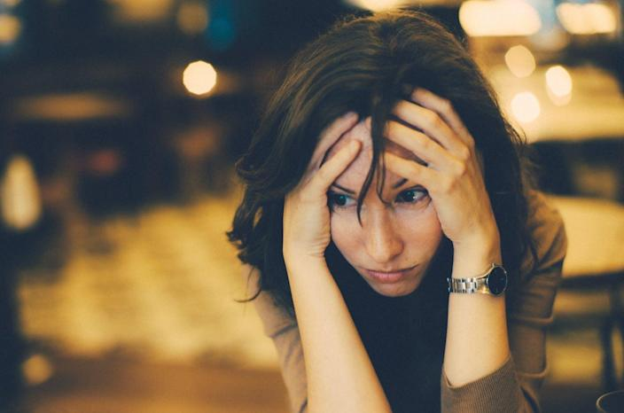 "<span class=""caption"">Alleviating major depression for the long term involves more than just drugs.</span> <span class=""attribution""><a class=""link rapid-noclick-resp"" href=""https://www.gettyimages.com/detail/photo/worried-woman-royalty-free-image/563853729"" rel=""nofollow noopener"" target=""_blank"" data-ylk=""slk:Rafa Elias via Getty Images"">Rafa Elias via Getty Images</a></span>"