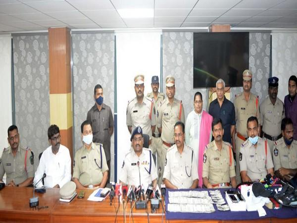 Police solved the Visakhapatnam ATM robbery case which took place on the night of October 22.