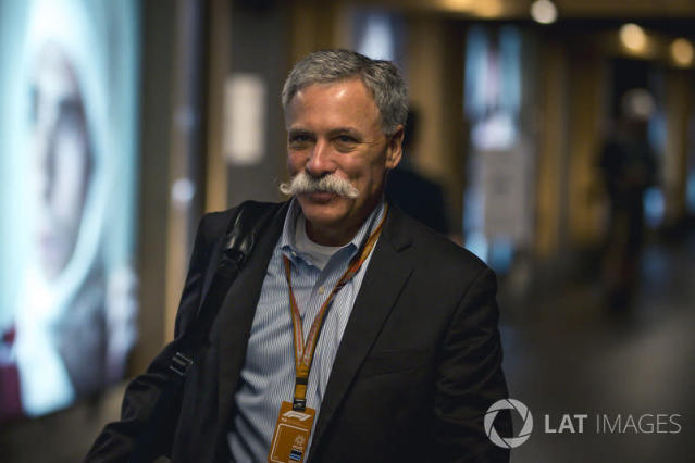 """Chase Carey, Chief Executive Officer and Executive Chairman of the Formula One Group <span class=""""copyright"""">Motorsport.com</span>"""
