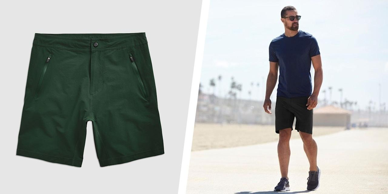 """<p>Shorts season is here, my friends. But before you store away your go-to <a href=""""https://www.menshealth.com/style/a19546067/25-best-jeans-for-men/"""" target=""""_blank"""">jeans</a> and pull out any old pair of shorts in your closet, it might be time to re-think your summer bottoms. The right length and fit make all the difference for flattering style with little-to-no effort required. No matter where you're heading, from outdoor cookouts, to a day at the beach, the wrong pair of shorts will add unwanted bulk to your body (think the wrong kind of gains) and make you look shorter. If you spent the past few months <a href=""""https://www.menshealth.com/fitness/a27456466/how-to-get-summer-body-ready/"""" target=""""_blank"""">taking your fitness game to the next level</a>, why not sport the right duds to show off your hard work? For any guy to look his best this warm weather season, check out the 6 most flattering and comfortable shorts for any summer occasion. </p>"""
