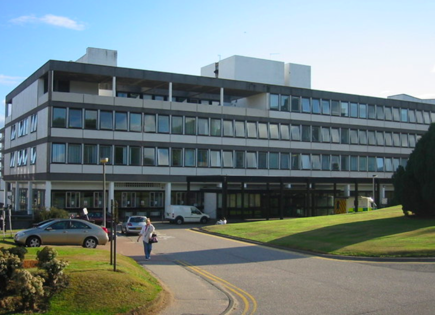 Aberdeen Royal Infirmary is also working under a code black status. (Wikipedia)