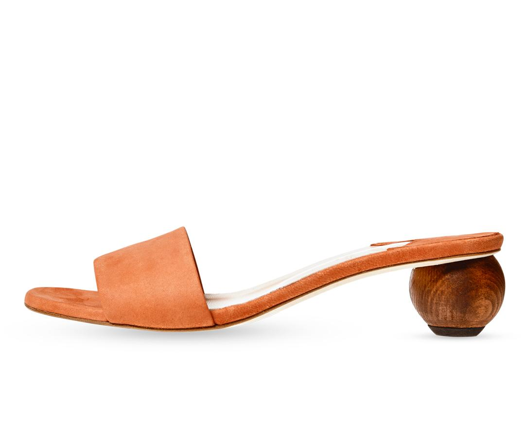 """<p>""""These sandals from Aurora James's line, Brother Vellies, are high on my wish list.""""</p> <p>$584   <a rel=""""nofollow"""" href='https://brothervellies.com/products/guava-sphere-sandal'>Brother Vellies</a></p>"""