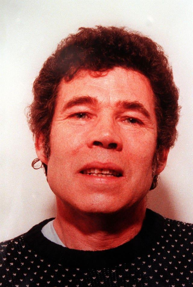 Serial killer Fred West killed himself in prison while awaiting trial for murder (Police handout/PA).