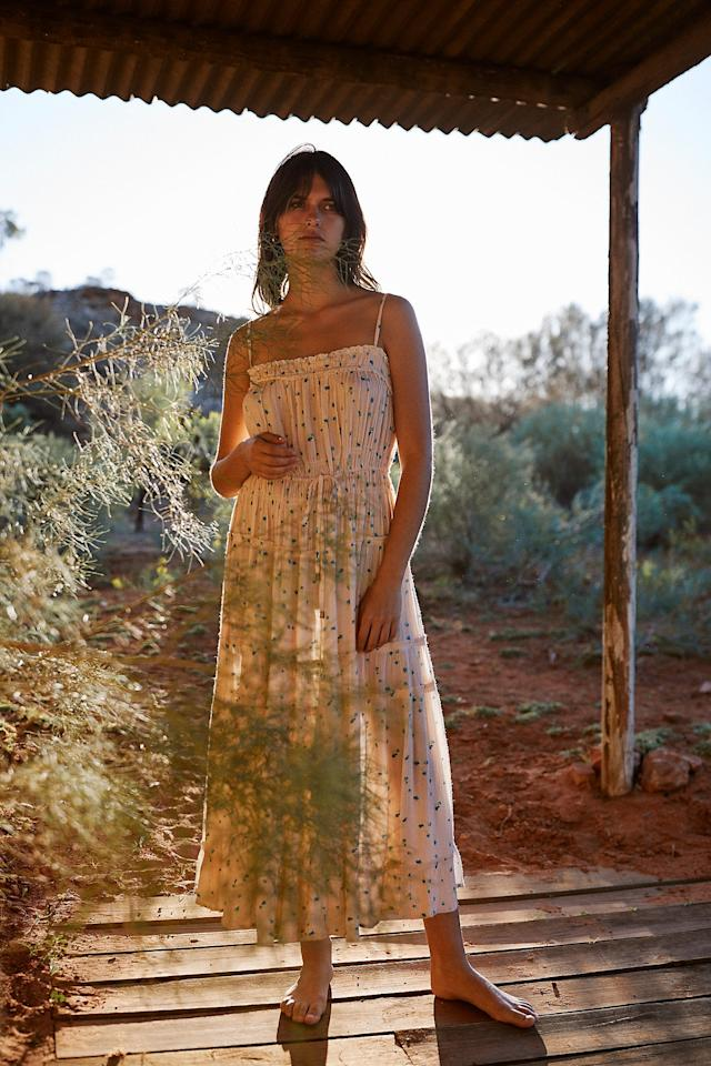 "<p>Pack this <a href=""https://www.popsugar.com/buy/Peaches-Midi-Dress-475194?p_name=Peaches%20Midi%20Dress&retailer=freepeople.com&pid=475194&price=50&evar1=fab%3Aus&evar9=46450161&evar98=https%3A%2F%2Fwww.popsugar.com%2Ffashion%2Fphoto-gallery%2F46450161%2Fimage%2F46450270%2FPeaches-Midi-Dress&list1=shopping%2Csales%2Cfree%20people%2Csummer%2Csummer%20fashion%2Csale%20shopping&prop13=mobile&pdata=1"" rel=""nofollow"" data-shoppable-link=""1"" target=""_blank"" class=""ga-track"" data-ga-category=""Related"" data-ga-label=""https://www.freepeople.com/shop/peaches-midi-dress/?category=sale-all&amp;color=067"" data-ga-action=""In-Line Links"">Peaches Midi Dress</a> ($50, originally $168) for vacation.</p>"
