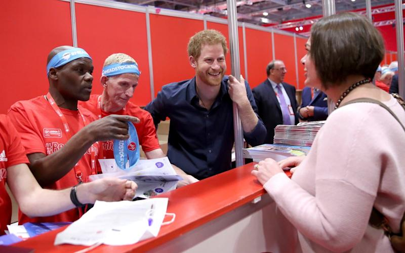 Prince Harry has opened up about his struggle with the loss of his mother as part of a campaign for greater openness about mental health - POOL GETTY