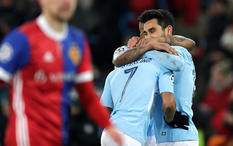 Man City celebrate a convincing win - Getty Images Europe