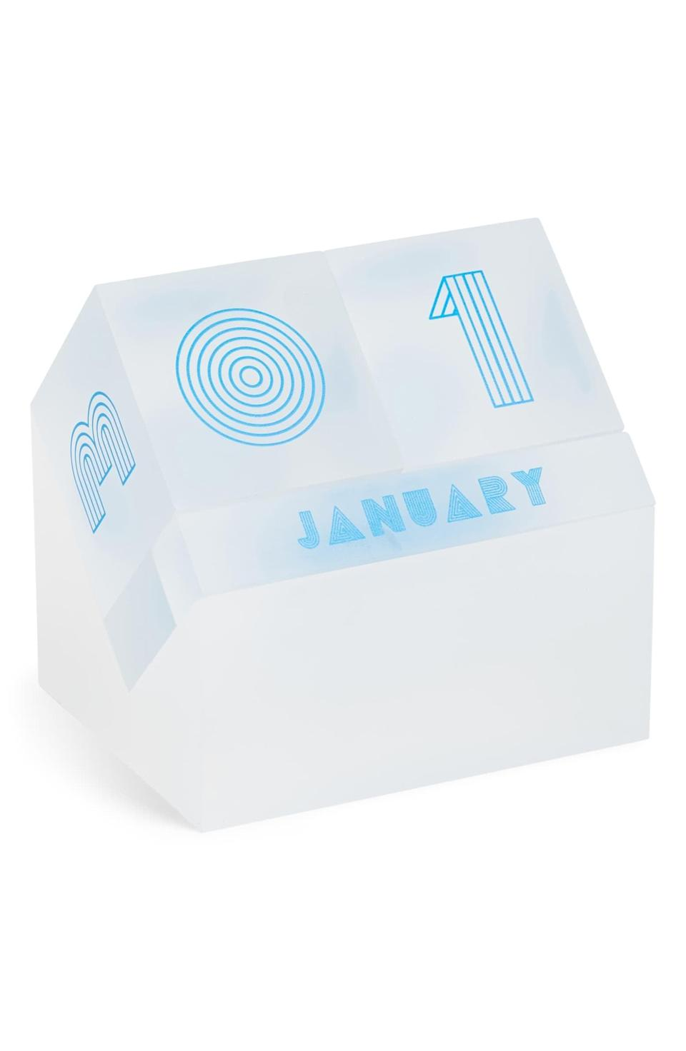 "<p>Upgrade their desk with this <a href=""https://www.popsugar.com/buy/Poketo-Lucite-Perpetual-Block-Calendar-532953?p_name=Poketo%20Lucite%20Perpetual%20Block%20Calendar&retailer=shop.nordstrom.com&pid=532953&price=68&evar1=fab%3Aus&evar9=36291197&evar98=https%3A%2F%2Fwww.popsugar.com%2Ffashion%2Fphoto-gallery%2F36291197%2Fimage%2F47027901%2FPoketo-Lucite-Perpetual-Block-Calendar&list1=shopping%2Choliday%2Cwinter%2Cgift%20guide%2Cwinter%20fashion%2Choliday%20fashion%2Cfashion%20gifts&prop13=api&pdata=1"" rel=""nofollow noopener"" class=""link rapid-noclick-resp"" target=""_blank"" data-ylk=""slk:Poketo Lucite Perpetual Block Calendar"">Poketo Lucite Perpetual Block Calendar</a> ($68).</p>"