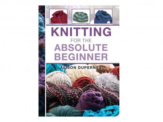 For knitting novices, pick up tips, tricks and techniques in this book for beginners (Amazon)