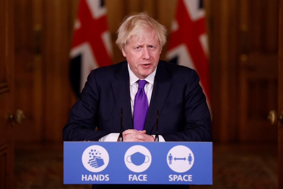 <p>Boris Johnson is to lead a press conference this afternoon</p> (Reuters)