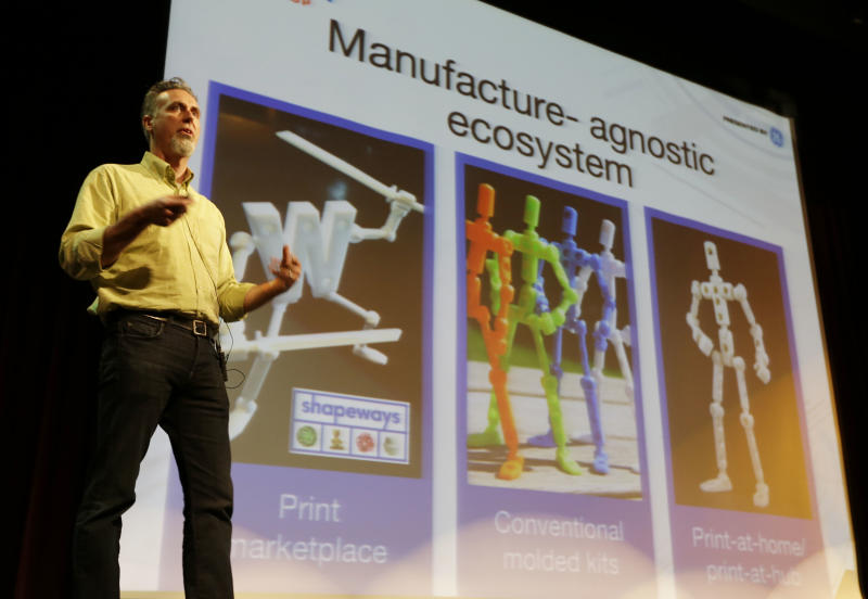 3-D printing goes from sci-fi fantasy to reality