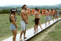 """<p>After 36 seasons, producers still come up with challenges that push the contestants to their limits. """"I got my a** handed to me by a bunch of NFL football players last week. I was in a haunted house. I didn't believe in ghosts before going in. I most certainly do now,"""" Johnny Bananas told <a href=""""https://www.popsugar.com/entertainment/Johnny-Bananas-Interview-About-Challenge-2018-45080039"""" rel=""""nofollow noopener"""" target=""""_blank"""" data-ylk=""""slk:PopSugar"""" class=""""link rapid-noclick-resp""""><em>PopSugar</em></a>. </p>"""