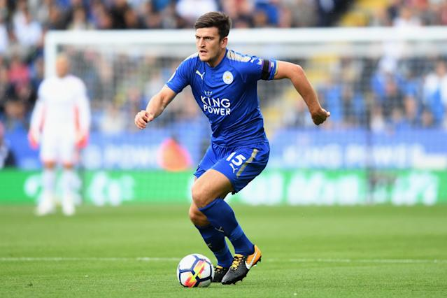 Harry Maguire has impressed for Leicester City this season