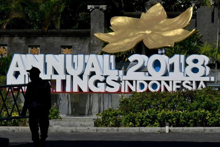 Some attendees in Bali for the International Monetary Fund and World Bank annual meetings evacuated their hotels as the quake shook the island