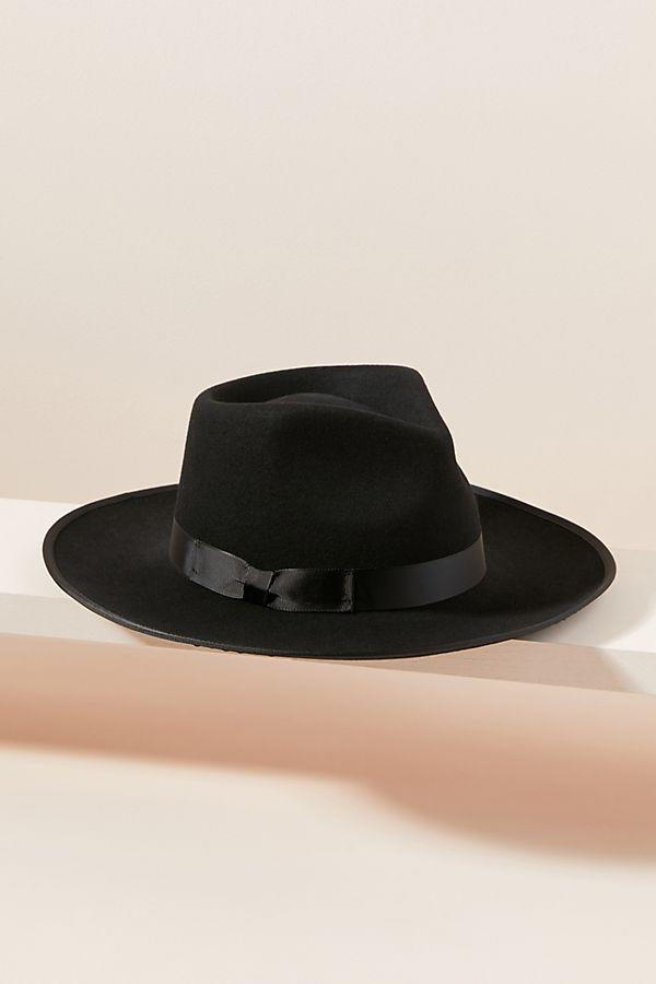 This timeless fedora looks great on anyone. (Credit: Anthropologie)