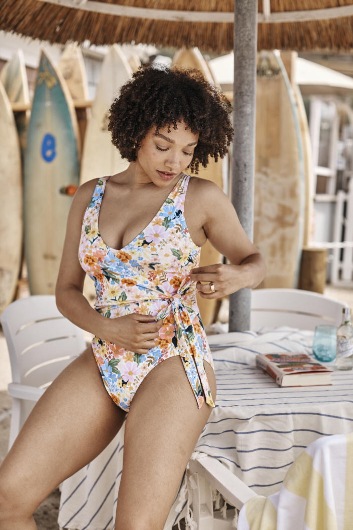 The Perfect Wrap One-Piece. Image courtesy of Rifle Paper Co.