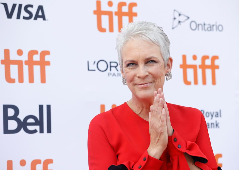 Halloween star Jamie Lee Curtis officiated a superfan's wedding over the phone right before he died.