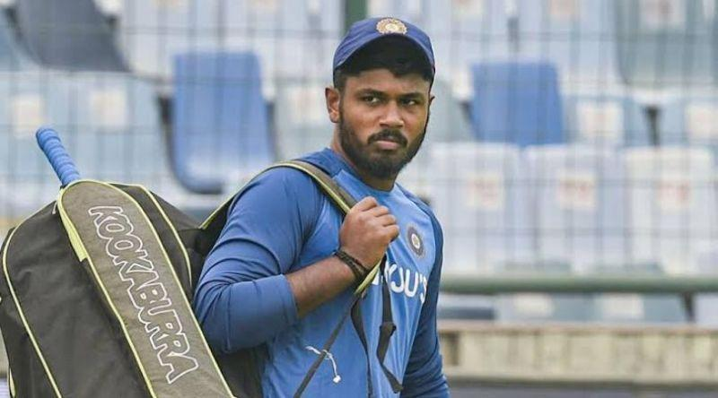 Samson earned a recall to the Indian T20I side