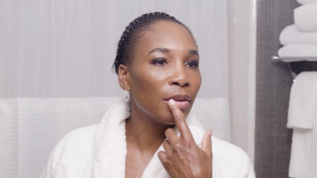 """In this episode of Go to Bed with Me, five-time Wimbledon tennis champion Venus Williams walks us through her nightly skin care routine. """"This routine takes care of your insides and your outsides,"""" Williams says at the start of her regimen. """"That way, in case we get old, we still look amazing. And old is just a state of mind, right?"""""""